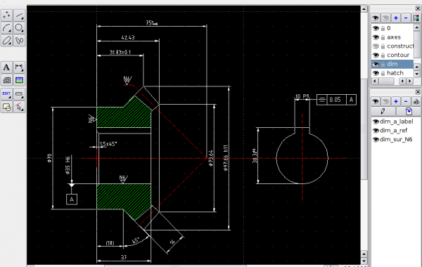 Πιστοποιητικό στο CAD Δισδιάστατη σχεδίαση